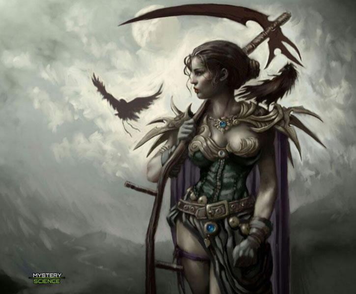 Badb, La Diosa de la Guerra Celta