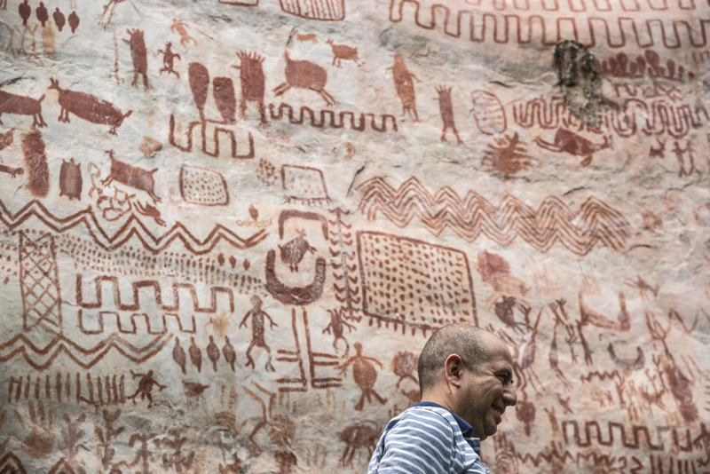 pinturas rupestres Amazonas