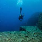 Pirámide y tallados enigmáticos hallados en ruinas submarinas de China