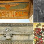 El disco solar alado: uno de los símbolos religiosos más antiguos del mundo