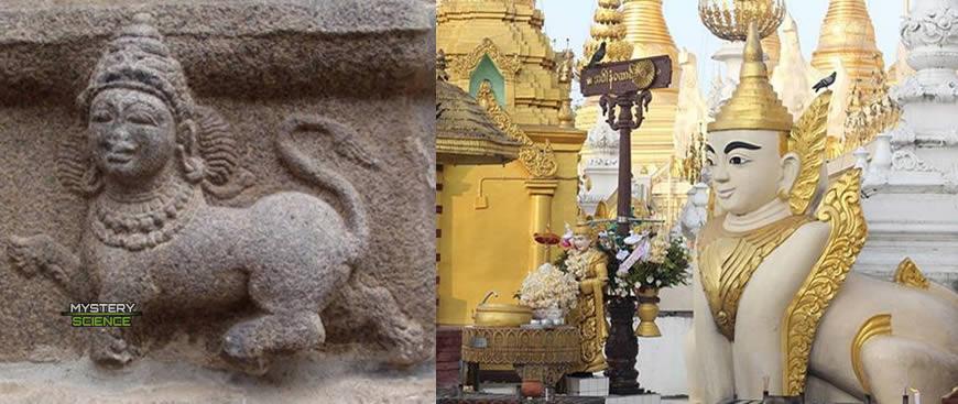 Esfinges India-Myanmar