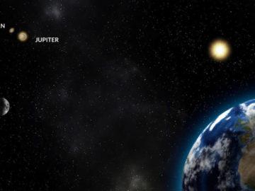 Este 21 de diciembre ocurrirá la Gran conjunción de Júpiter y Saturno, y es la mejor en 800 años
