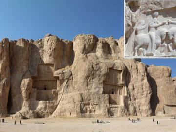 Naqsh-e Rustam: Colosales tumbas de poderosos reyes persas