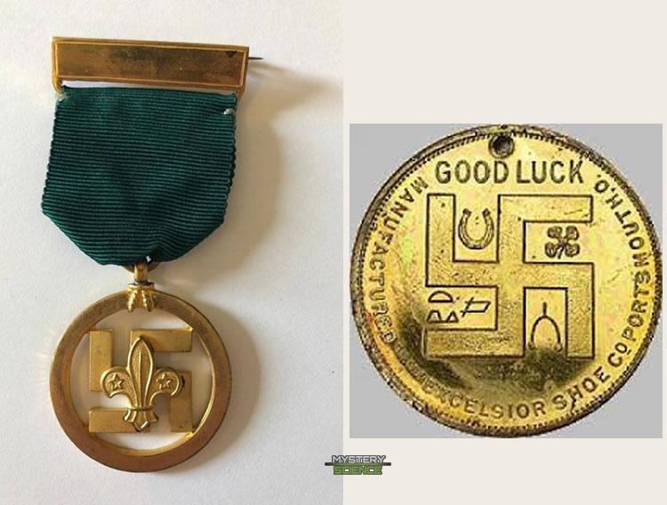 Moneda y medalla al mérito de los boyscouts