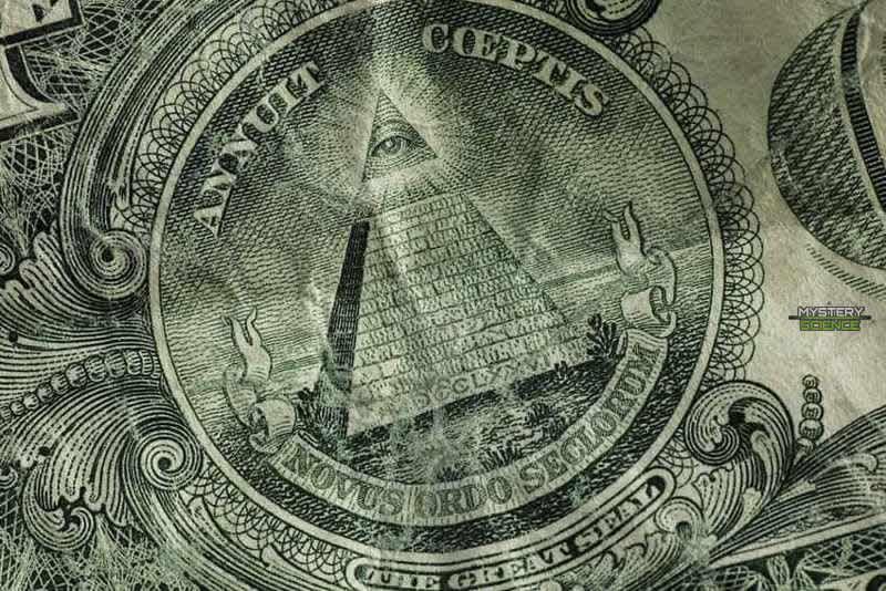 El Ojo de la Providencia puede encontrarse al reverso del billete de un dólar