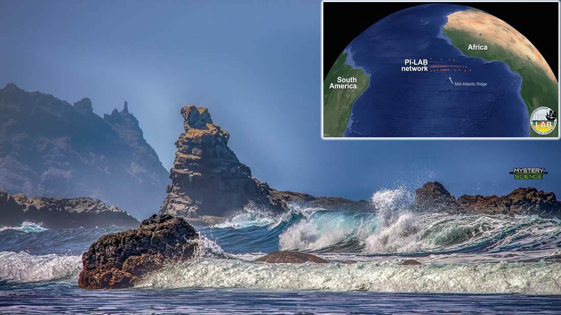 Misterioso fenómeno está ensanchando el océano Atlántico y alejando varios  continentes – Mystery Science