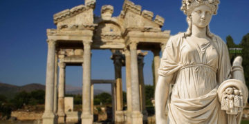 Hallan las ruinas de un templo dedicado a Afrodita, de 2.500 años de antigüedad