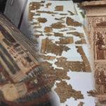 Hallan templo funerario de una reina y tesoros arqueológicos en Egipto