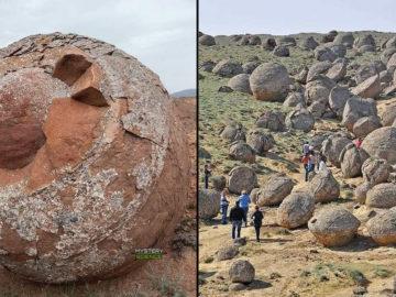 Las esferas de piedra gigantes de Kazajstán que desconciertan a los científicos