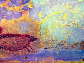 Encuentran el arte rupestre más antiguo del mundo