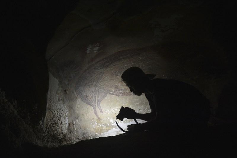 Arte rupestre indonesia
