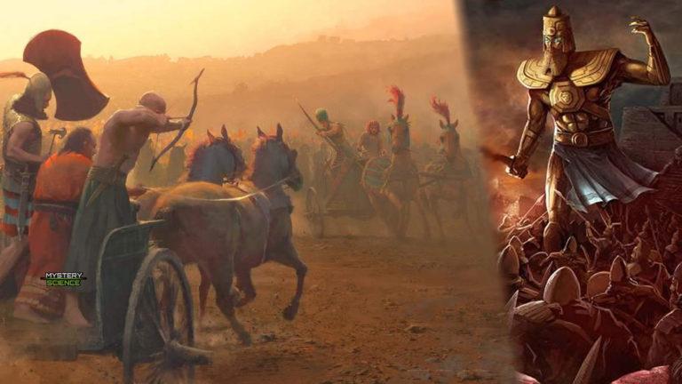 La batalla de Kadesh: Enfrentamiento por los dioses Anunnaki