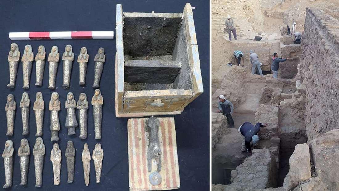 Descubrimientos Saqqara