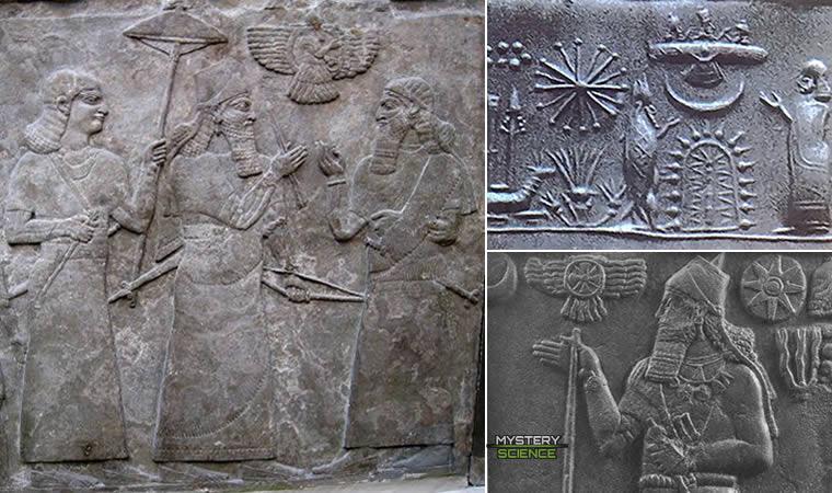 Disco solar sumeria y babilonia