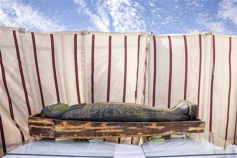 sarcófagos hallados en Saqqara