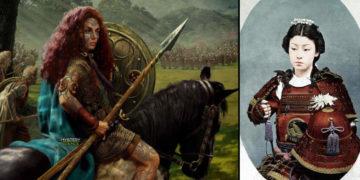 Guerreras valientes que marcaron la historia