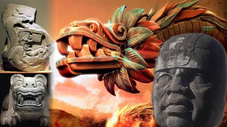 Los dioses reptil de los Olmecas