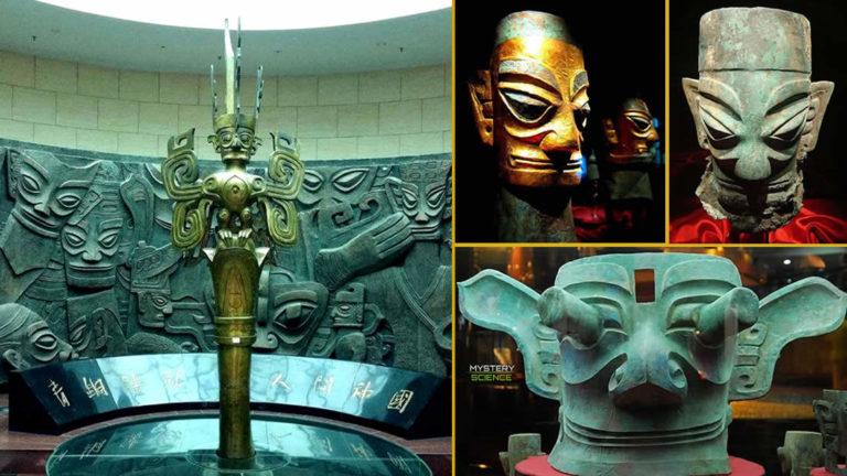 Extraños artefactos de antigua civilización china desaparecida misteriosamente