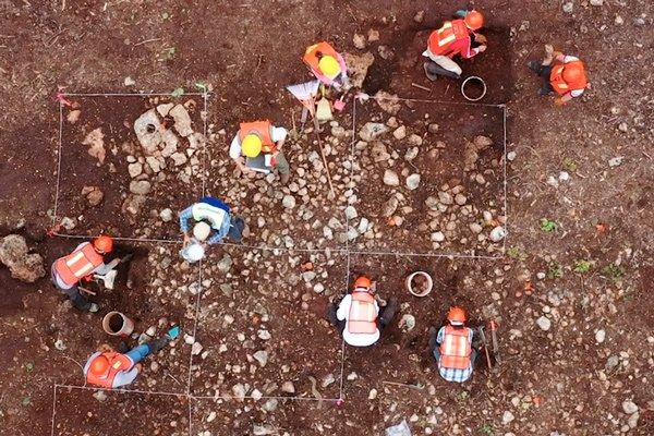 monumentos arqueológicos en la ruta del Tren Maya