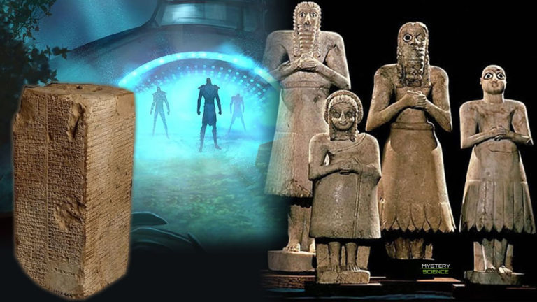 Reyes sumerios: Deidades que llegaron del cielo