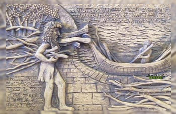 Utanapishtim y Moisés diluvio universal