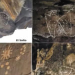 Hallan arte rupestre asociado al cosmos y criaturas mitológicas en México