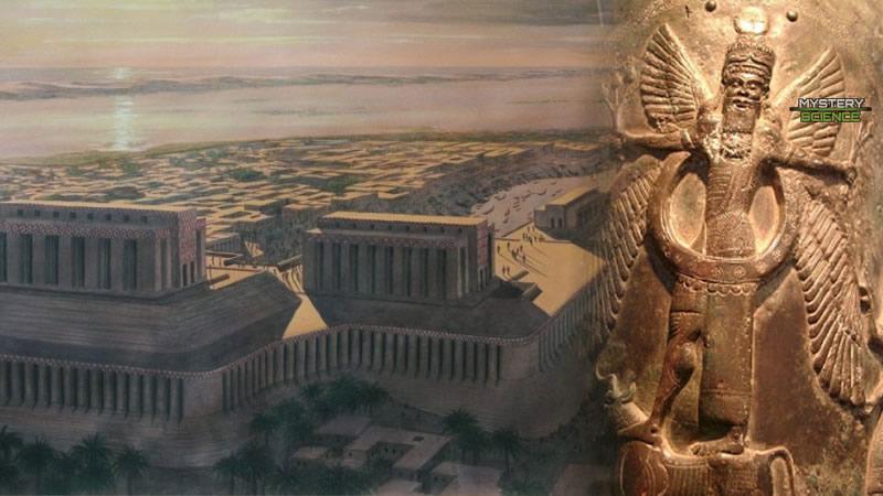 Eridu es la ciudad donde llegó el dios Enki
