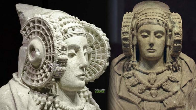 La Dama de Elche: Enigmática escultura con un misterioso «casco»