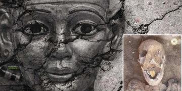 Encuentran una momia con lengua de oro en Egipto