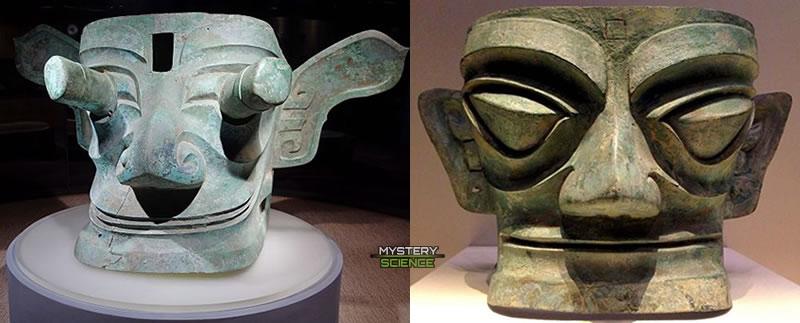 Las máscaras varían en tamaño, llegando hasta el tamaño de un automóvil pequeño