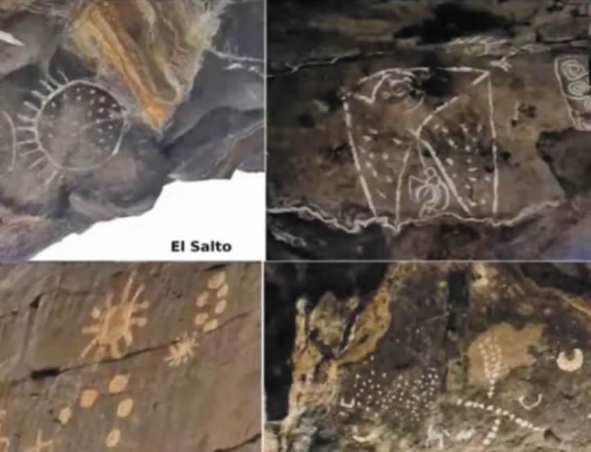 Arte rupestre cósmico