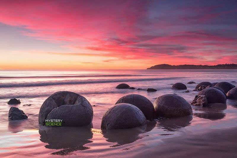 Esferas de piedra