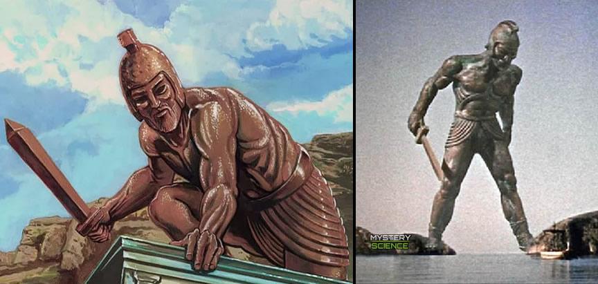 Talos Jason y los Argonautas