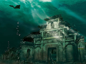 El antiguo reino perdido bajo el agua