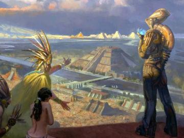 Los dioses antiguos fueron inspirados en seres de otros mundos