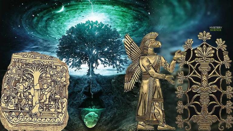El árbol de la vida, un antiguo símbolo místico importante en varias culturas