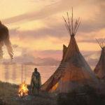 Gigantes blancos descritos por tribus nativas americanas