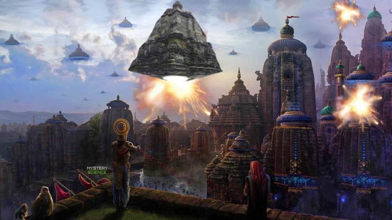 La legendaria ciudad que fue atacada con un Vimana