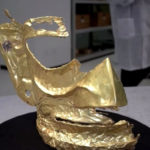 Hallan una máscara de oro de una misteriosa civilización China de hace 3.000 años