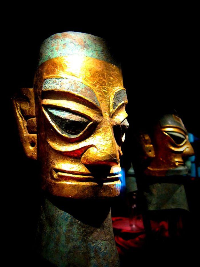 Máscaras Sanxingdui