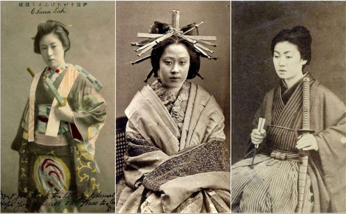onna-bugeisha, las mujeres guerreras de japón