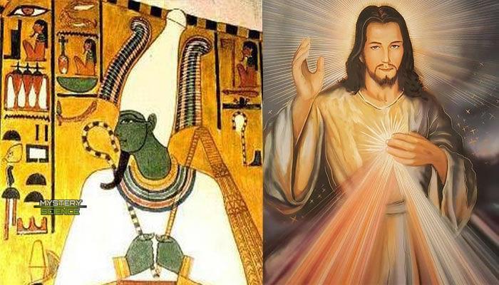 Osiris y Jesús similitudes