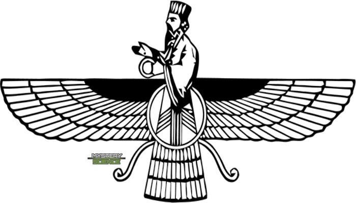 Seres alados en el zoroastrianismo