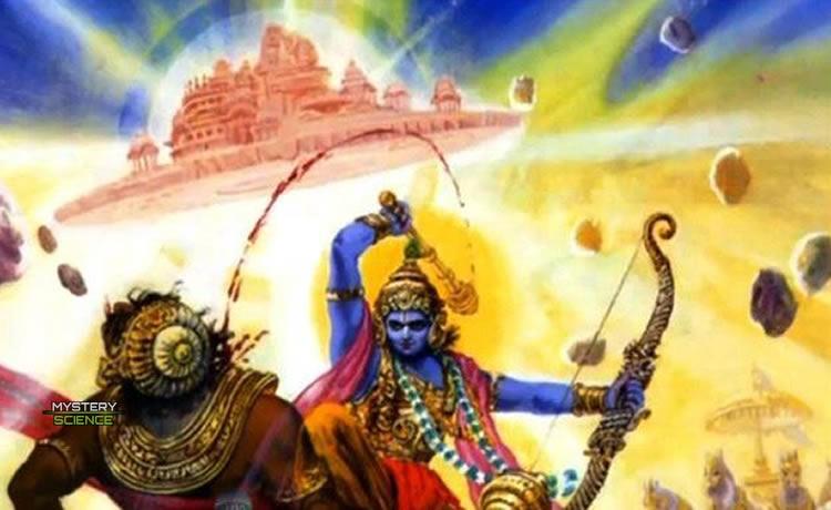 Batalla entre Salwa y Krishna