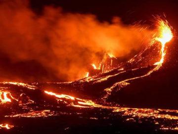 Un volcán despierta en Islandia tras 800 años de inactividad
