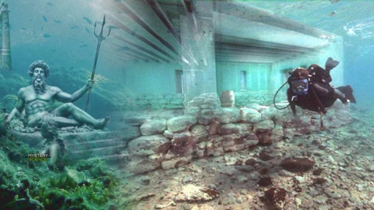 Ciudad de 5.000 años descubierta bajo el agua en Grecia es vinculada con la Atlántida