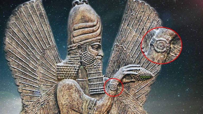 El misterioso «brazalete» de los Anunnaki ¿Tecnología antigua?