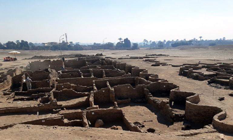 ciudad de unos 3.000 años de antigüedad que llevaba siglos desaparecida