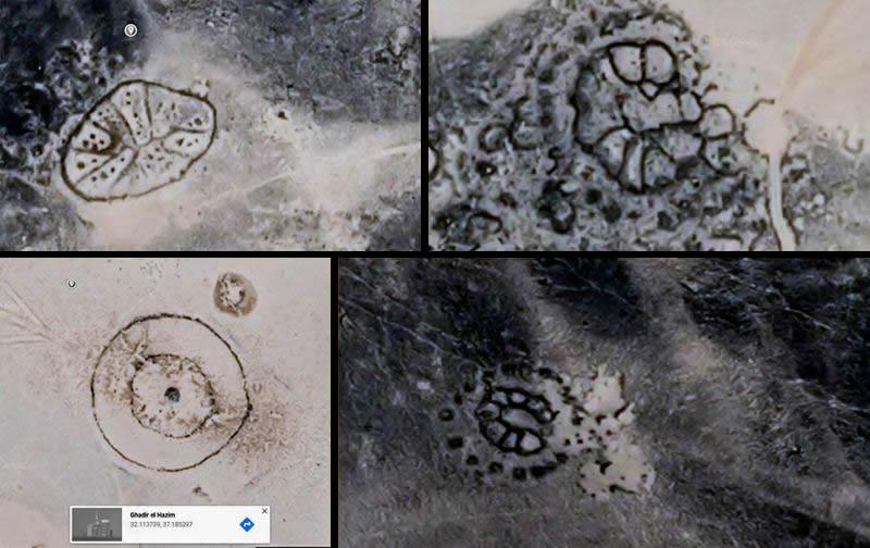 Vista aérea del desierto de Jordania revela geoglifos misteriosos