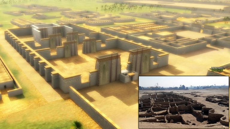 Encuentran una ciudad de hace 3.000 años del antiguo Egipto